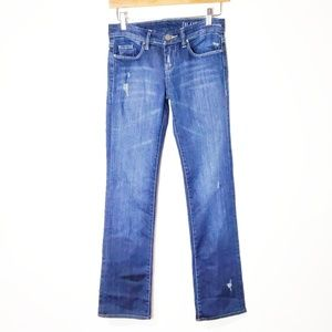 BlankNYC Straight Leg Distressed Jeans Size 24